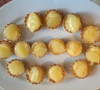 Las tartaletas de pomelo terminadas.