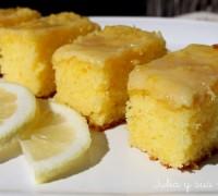 Brownie de limón, recetas con limón muy fáciles.