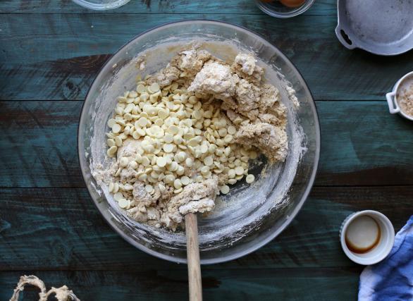La masa final ara las galletas de pomelo