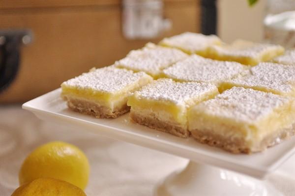 barritas de queso con limon