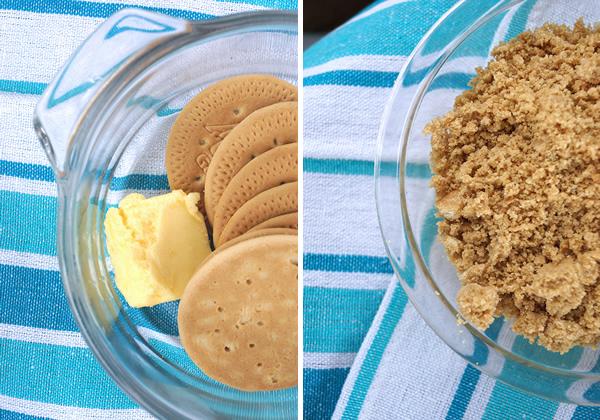 galletas con limon en tarros