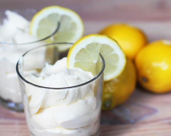Recetas con limón: Mousse de limón con yogur