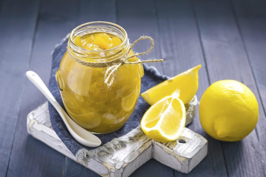 mermelada de limón
