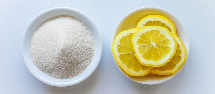 limon y azucar para mermelada de limon con thermomix