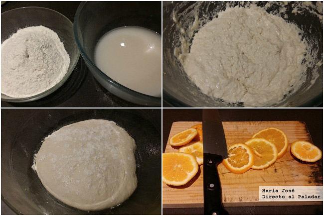 focaccia de naranja amarga