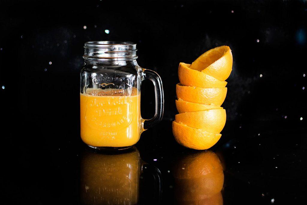 Un zumo de naranja como ayuda en alimento para diabéticos
