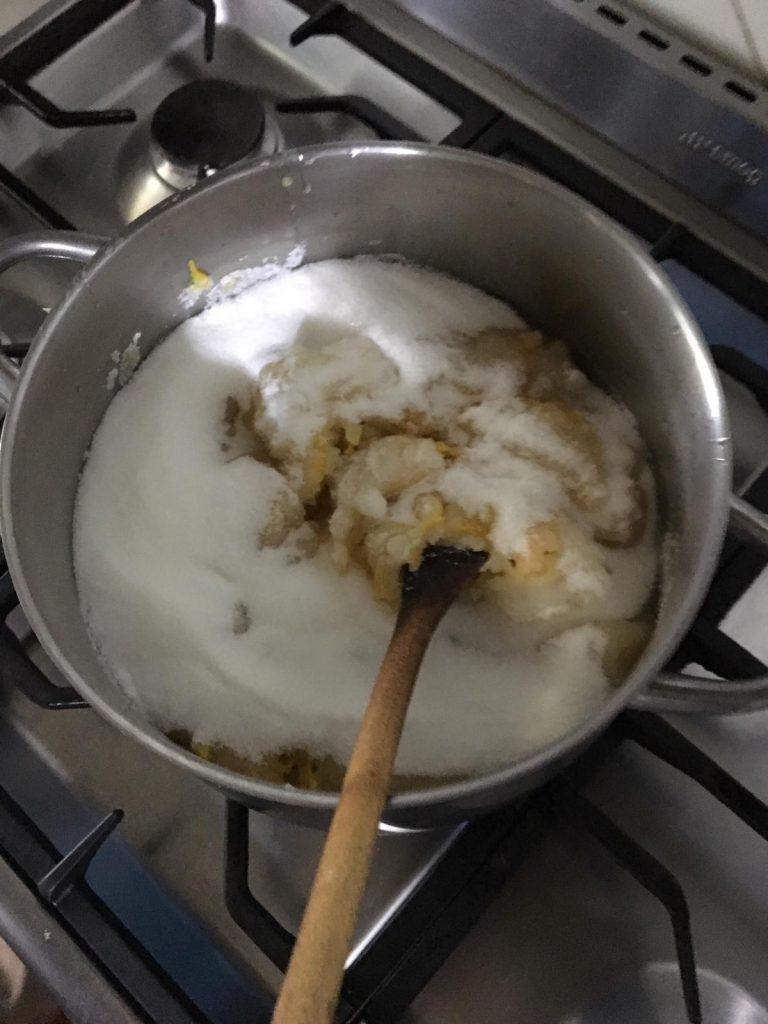 cocinando receta de la abuela