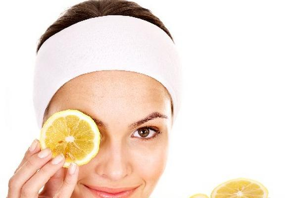 Ingredientes para mascarilla facial de pomelo