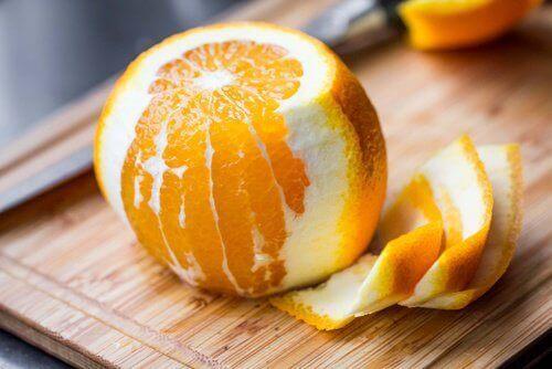 beneficios de la cáscara de los cítricos