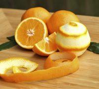 diferentes usos de la cáscara de naranja